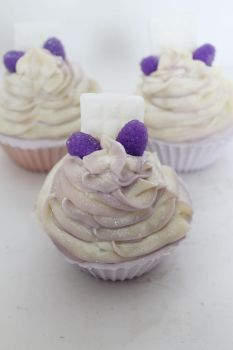 Black Raspberry Vanilla CP SOAP cupcakes by JupiterArt