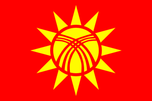 Flag of the Hui (Dungan) people by hosmich