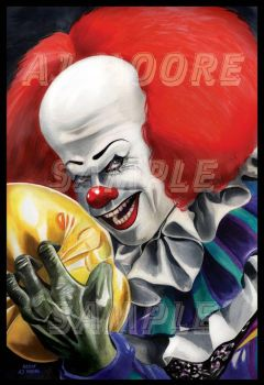 Pennywise - IT - ArtistAJMoore by GudFit