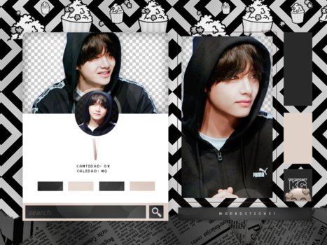 V | BTS | PACK PNG by KoreanGallery