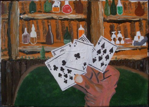 The Dead hand (the end of Wild Bill Hickock) by Davey-R