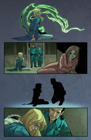 Witchblade #3 page 23 by BryanValenza