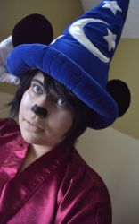 Disney Sorcerer's Apprentice Mickey Cosplay by YamiKlaus