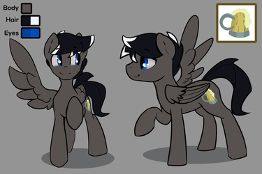 OC Reference Sheet Commission by DarkFlame75