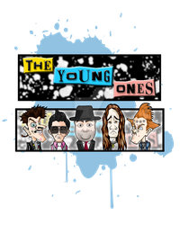 The Young Ones Ink Blot by panicfaceproductions