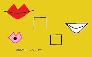 Mouth Kanji by AbstractWater