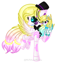 [GIFT] Funtime Angel by MLPCrystalHarmony