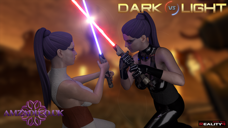 Dark vs Light (Solje 001) by Amzadi