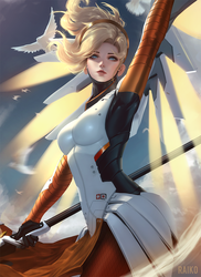 Mercy by raikoart