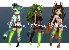 SP Gleamstic: Green Green Green [CLOSED] by Cyleana