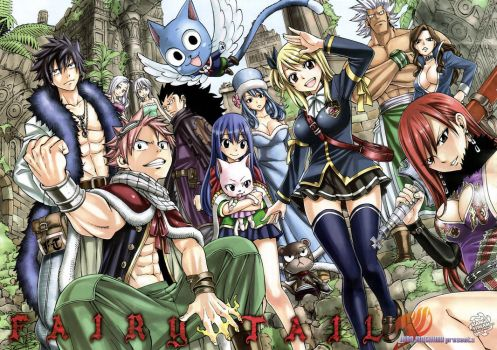 Fairy tail by shadow-saint1104