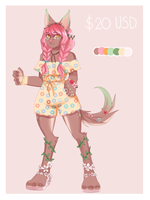 (OPEN) Plant Wolf by mareuseu-adopts