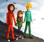 Butters x Kenny (feat. Karen) by DioLorette