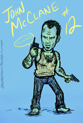 John McClane in Palette 12 by I-heart-Link