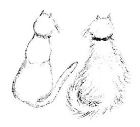 Kitty sketch by MeowMommy