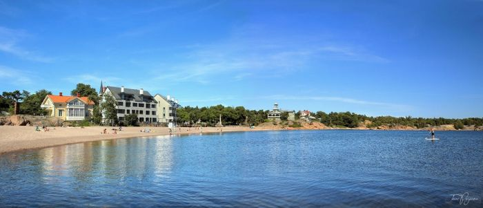 Summer Day in Hanko by Pajunen