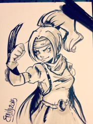 Dragon Quest by EmmersDrawberry