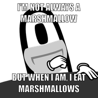 I'm not always a marshmallow by mattyhex