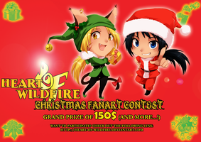 HOW Christmas fanart contest by meago