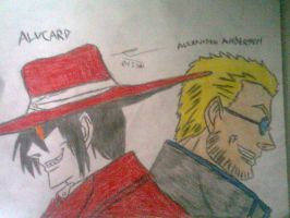 Alucard And Alexander Anderson V2 by ShadowRocker3000
