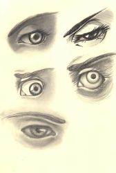 Eye Sketch by Kissakisan