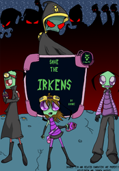 Save the Irkens-Cover+Contest by SaveTheIrkens