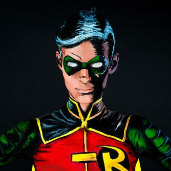 Robin Bodypaint by KayPikeFashion