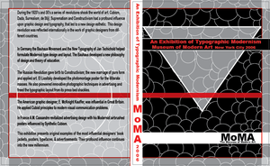 MoMA Book cover layout by saturnsara