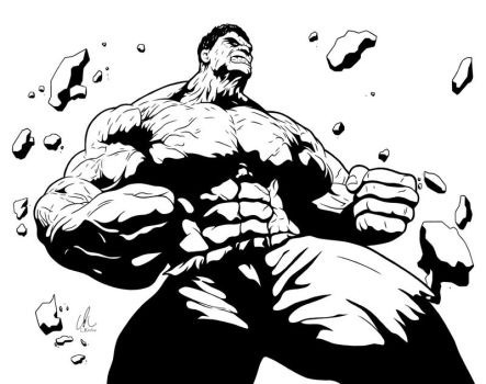Hulk - The Other Guy by DynamixINK