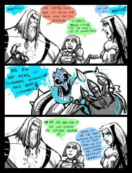 UNHOLY TRINITY SHORT:ENFORCER MONOLOGUE by Sabrerine911