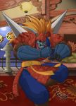 Street Fighter EX - Garuda by FranjoGutierrez