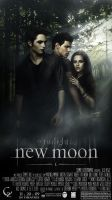New Moon Poster Cover by CleberZambottti