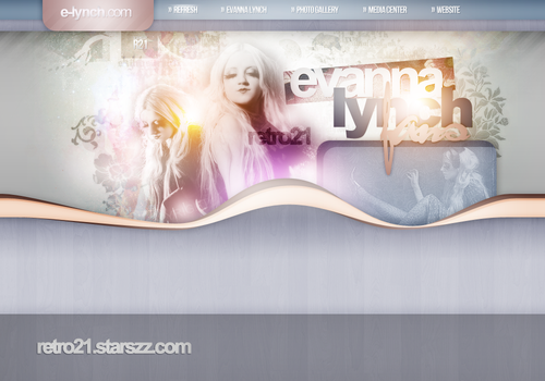 Evanna Lynch Layout by R21Art