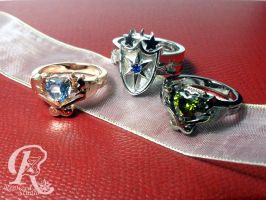 MLP This Day Aria rings set 01307TDA by magisapphire