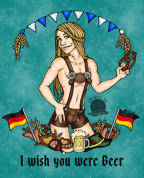 I Wish You Were Beer by Blackmoonrose13