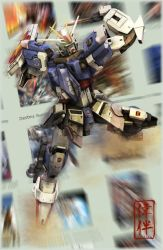 Impulse Gundam: Just an ID by sandrum