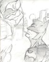 bane vs Batman by jesusjr