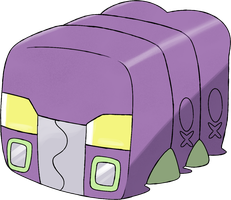 737k Charjabug, the Battery Pokemon