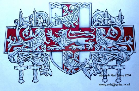Nolan Coat of arms by Tattoo-Design