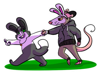 this way to the egg hunt by applecat9