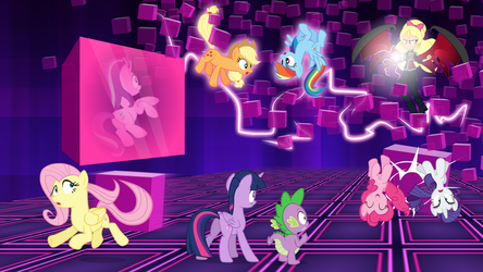 The Final Battle in Null Space by DashieMLPFiM