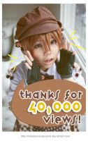Thanks for the 40,000 views by lavena-lav