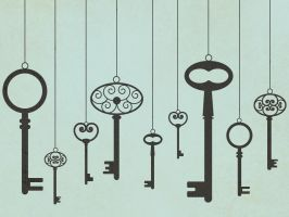 Vintage Keys by apparate