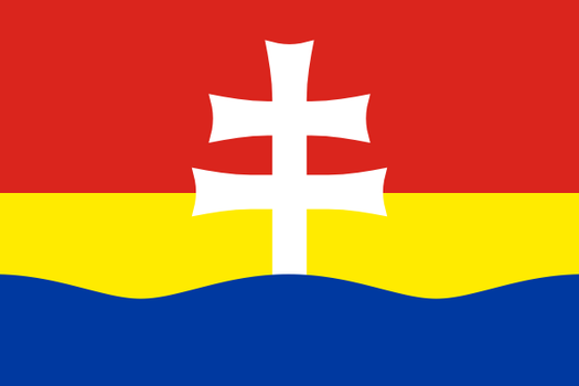 Flag of Zitny ostrov (Csallokoz) by hosmich