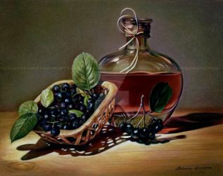 Wine and Berries by Acacia13