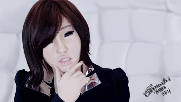MINZY 'I AM THE BEST' PAINTING by CassPoon