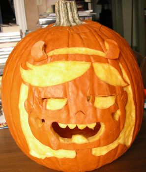 Star vs. The Forces of Evil Jack-O-Lantern by JaclynDolamore