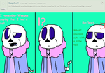 Ask ttoba Sans or Reflection #16 by cjc728