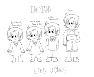APH Indiana 'Ethan' Jones by Noizy-Bunny