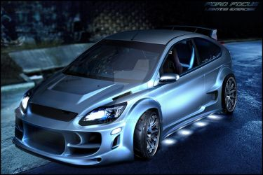 Ford Focus lighting exercise by fliOx